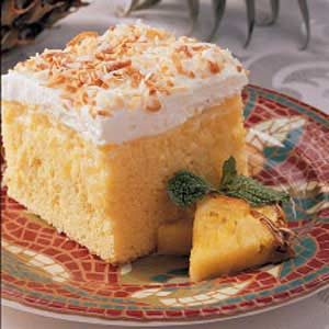 Easy Pineapple Coconut Cake Recipe