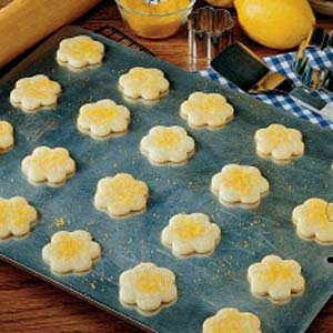 Lemon Butter Cookies Recipe