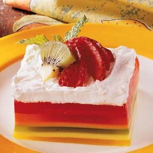 7 Layer Gelatin Salad Recipe