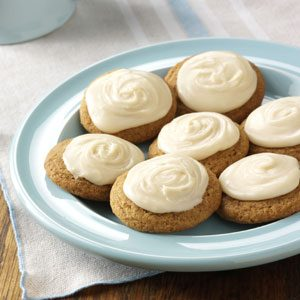 Frosted Ginger Cookies Recipe