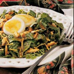 Salad with Honey-Mustard Dressing
