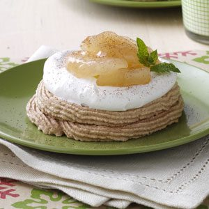 Apple & Cream Meringues Recipe
