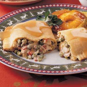 Turkey Turnovers for Two Recipe