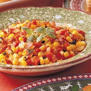 Red Pepper 'n' Corn Skillet Recipe