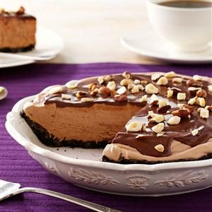 Chocolate-Hazelnut Cream Pie Recipe