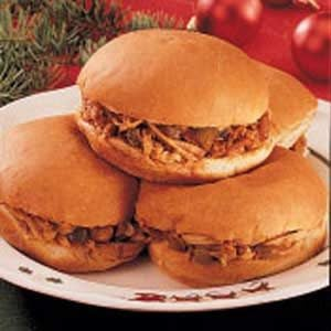 Barbecued Turkey Sandwiches Recipe