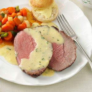 Sirloin with Bearnaise Sauce Recipe