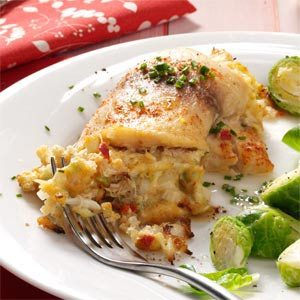 Crab-Stuffed Tilapia Recipe