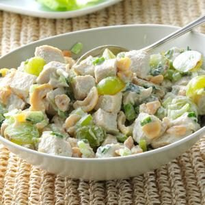 Turkey Salad with Grapes & Cashews Recipe