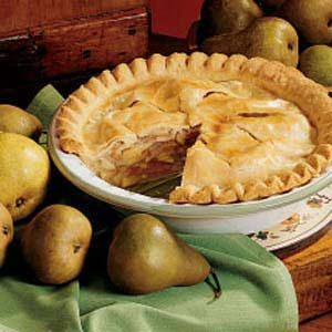 Fall Pear Pie Recipe