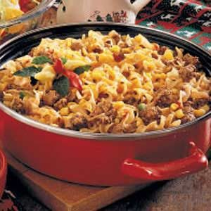 Beef Skillet Supper Recipe