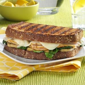 Turkey Florentine Sandwiches