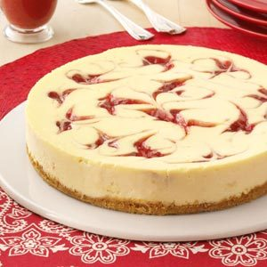 Strawberry Cheesecake Swirl Recipe photo by Taste of Home