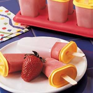 Yogurt Ice Pops Recipe