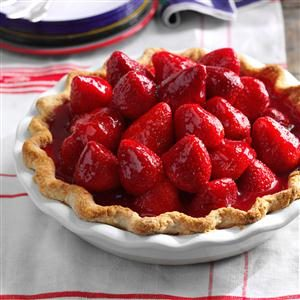 Best Ever Fresh Strawberry Pie Recipe photo by Taste of Home