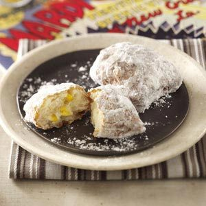 Sweet Corn Beignets with Bacon-Sugar Dust Recipe