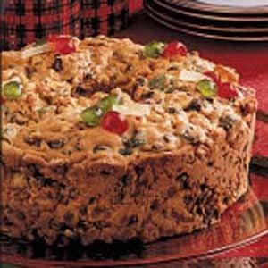 Holiday Fruitcake Recipe