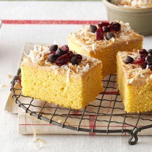 Sweet Potato Cranberry Cake Recipe