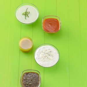 Light Green Goddess Salad Dressing