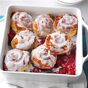 Cinnamon Cherry Cobbler Recipe
