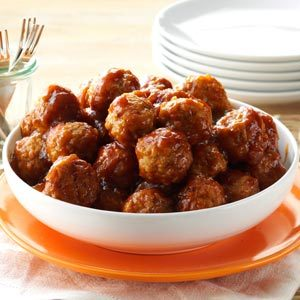 Tangy Glazed Meatballs Recipe