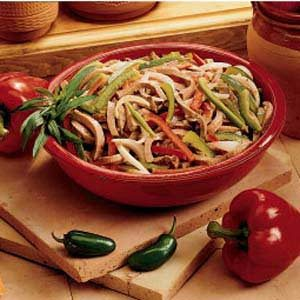 Beef and Pepper Medley Recipe
