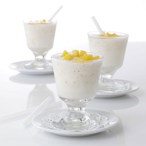 Ginger-Peach Milk Shakes Recipe