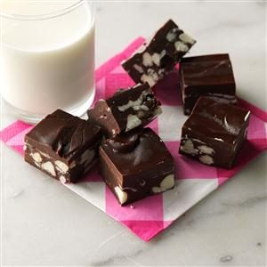 Dark Chocolate Raspberry Fudge