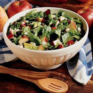 Spinach Apple Salad Recipe