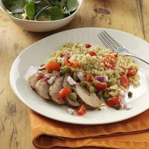 Andalusian Pork Tenderloin for Two