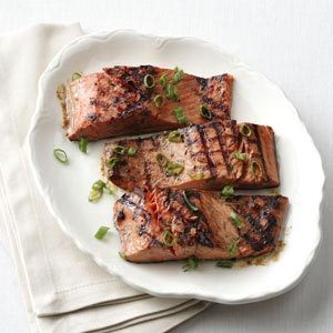 1-2-3 Grilled Salmon for Two Recipe