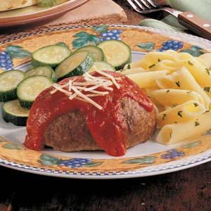 Mini Italian Meat Loaves Recipe