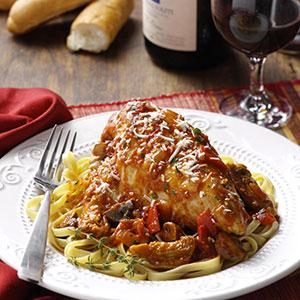 Italian Chicken Chardonnay Recipe