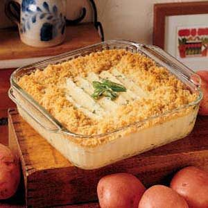 Baked Mashed Potatoes Recipe