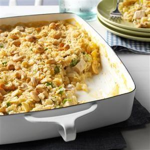 Cashew Chicken Casserole Recipe