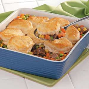 Beef Veggie Casserole Recipe
