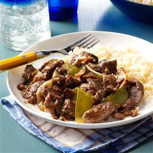 Zesty Orange Beef Recipe