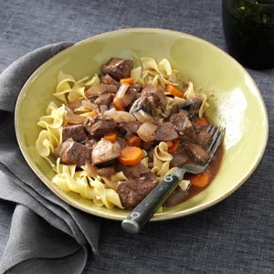 Slow-Simmering Beef Bourguignon Recipe