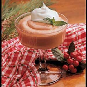 Minty Cocoa Mousse Recipe