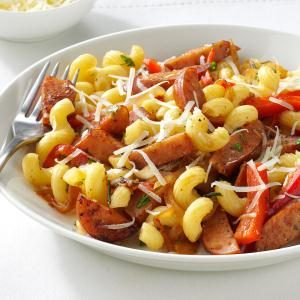 Sausage Skillet with Pasta & Herbs Recipe