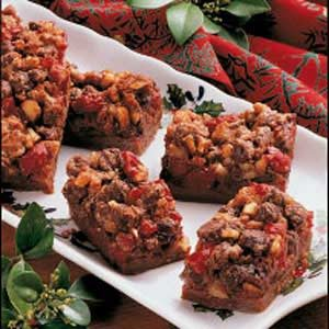 Chocolate Cherry Bars Recipe