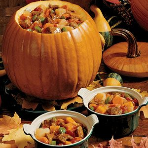 Pumpkin Stew Recipe