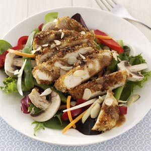 Crispy Asian Chicken Salad