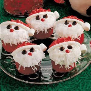 Santa Cupcakes Recipe