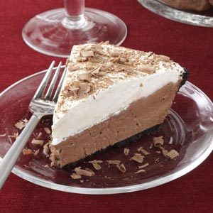 Chocolate Lover's Cream Pie Recipe