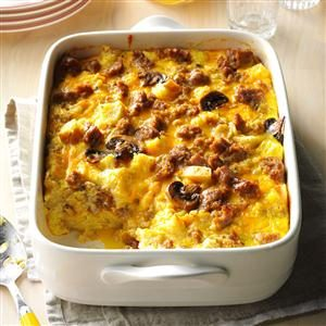 Stuffing & Sausage Strata Recipe