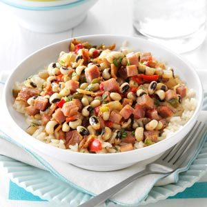 Black-Eyed Peas & Ham Recipe