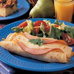 Ham 'n' Cheese Crepes Recipe