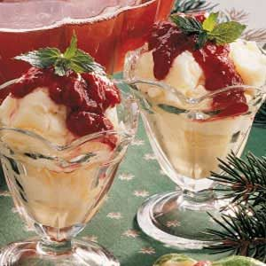 Raspberry Sundaes Recipe