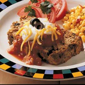 Taco Meat Loaf Recipe